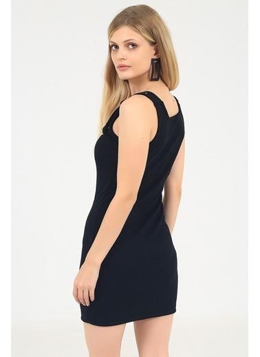 Emjey Elbise Siyah